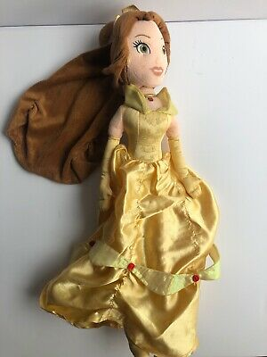 """Disney Store Belle Beauty And The Beast 21"""" Plush Doll Soft Toy Princess • 10.99£"""