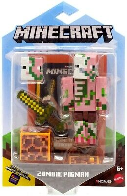 AU15.95 • Buy Minecraft Comic Maker Zombie Pigman Action Figure