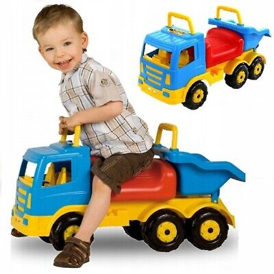 Ride-on Truck For Kids 69 Cm Long (27 Inch) Push Along Car Toy From 1 Old Year • 56.99£
