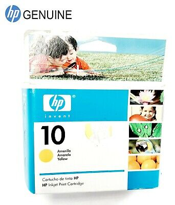 $10.76 • Buy Genuine HP 10 C4842AL Yellow InkJet Print Cartridge Color Printer 2000c 2500c