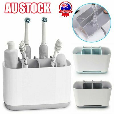 AU23.09 • Buy Electric Toothbrush Holder Large Bathroom Caddy Storage Organizer Bath Home Rack