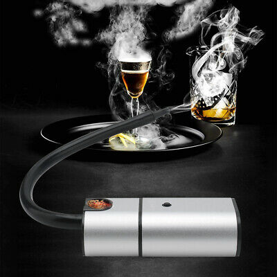 Smoke Infuser Hand-held Cold Smoking Gun Smoker For Food Meat,Cheese & Cocktails • 16.89£