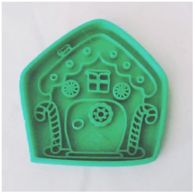 £5.99 • Buy Christmas House Cookie Pastry Biscuit Cutter Icing Fondant Clay Kitchen Xmas