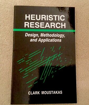 Counselling Book Heuristic Research Clark Moustakas • 45£