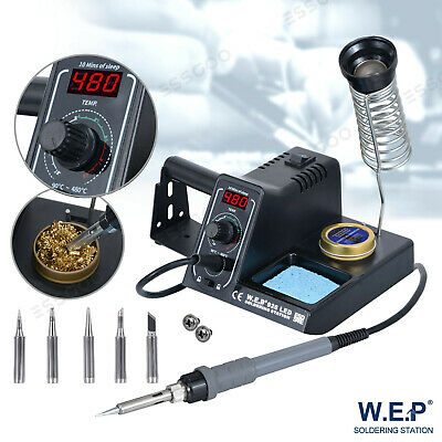 £29.99 • Buy Pro Soldering Iron Station Rework Kit Variable Stand Temperature Digital LED 60W