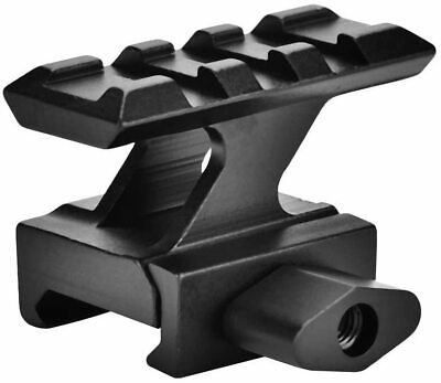 High Riser Rail Mount Scope Mount Fit 20mm Picatinny Rail Base Adapter Hunting • 12.89£