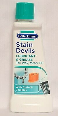 DR Beckmann Stain Devils Remover Cleaner Lubricant Grease Tar Oil 50ml  • 3.19£