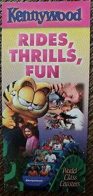 $8 • Buy 2005 Kennywood Amusement Park Brochure Map Guide Booklet