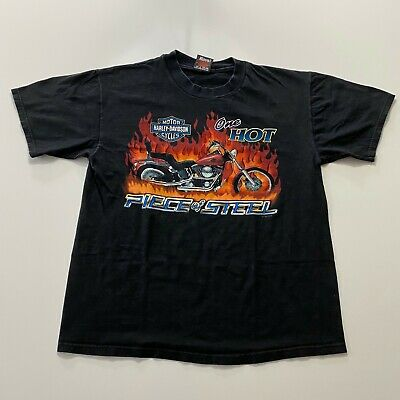 $ CDN33.82 • Buy Vintage Harley Davidson T-Shirt Size M Firenze Italy Made In Usa Double Sided