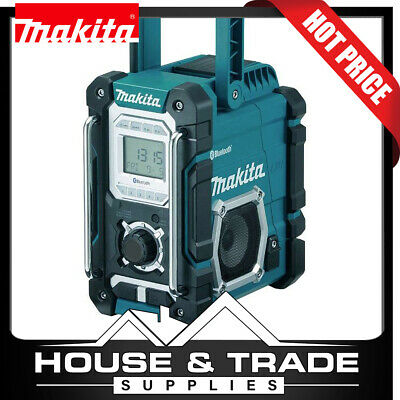 AU289 • Buy Makita Jobsite Radio 7.2V-18V Li-ion Bluetooth USB Port DMR108 TOOL ONLY