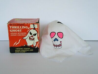 $ CDN32.41 • Buy Vintage 1980's Halloween Thrilling Ghost Sound Activated, Shakes, Glows Ghost