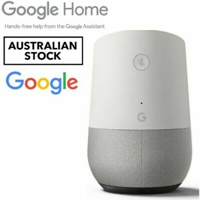 AU129.90 • Buy Google Home - Smart Assistant - White Slate - AU Version - BRAND NEW