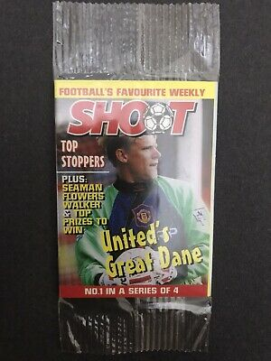Cereal Insert Peter Schmeichel ~ United Great Dane Mini Shoot Comic ~Tactic Card • 2.99£