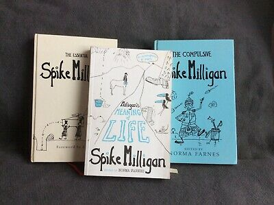 Spike Milligan Books X3 Meaning Of Life, Essential & Compulsive • 16£