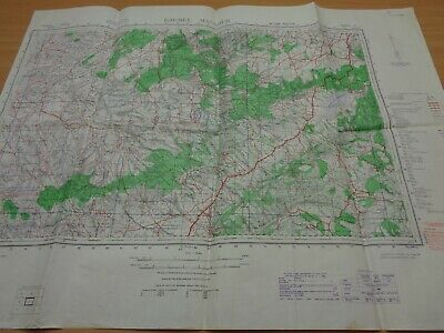 WW2 (1942) British INFANTRY Map -  The BATTLE Of MANSOUR  (British PARATROOPERS) • 49.99£
