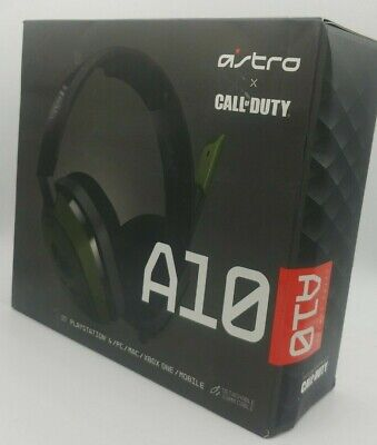£26.26 • Buy ASTRO Gaming A10 Call Of Duty Gaming Headset For PC / MAC / PS4 / XBOX / Switch