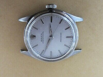 $ CDN1675.40 • Buy ~ Rolex Authentic Vintage #6044 OYSTER ROYAL AGED Silver Dial S/S Watch ~