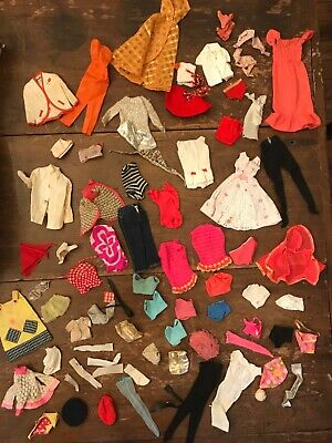 $ CDN42.18 • Buy VINTAGE 1960's Lot Of Barbie Ken Skipper Clothes