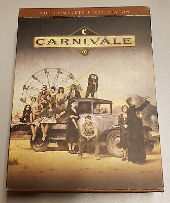 Carnivale - The Complete First Season (DVD, 2004, 6-Disc Set) • 6.20£