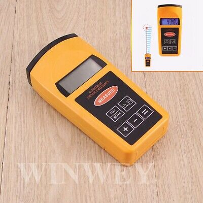 Laser Rangefinders Ultrasonic Distance Meter Measurer Tape Diastimeter • 15.13£