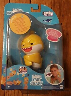 $3.25 • Buy WoWWee Pinkfong BABY SHARK FINGERLING Light Up & Music Toy