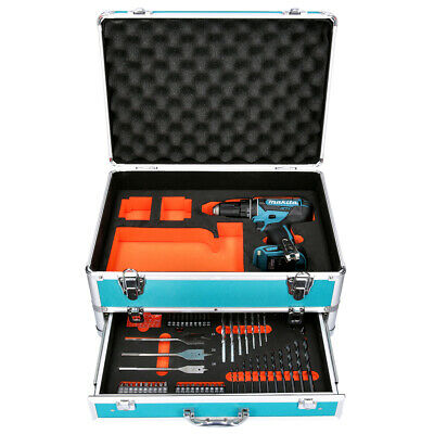 Makita DHP482 18V Combi Drill + 70 Piece Accessory Set - No Battery / Charger • 100£