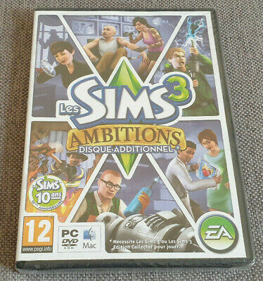 £4.99 • Buy PC Game The Sims 3 Ambitions Expansion Pack New French Version Eng Game Damaged