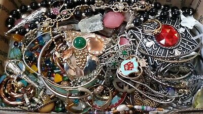 $ CDN27.83 • Buy #2 Vintage To Now Estate Find Jewelry Lot Junk Drawer Unsearched Untested Wear
