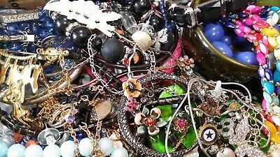 $ CDN20.37 • Buy #3 Vintage To Now Estate Find Jewelry Lot Junk Drawer Unsearched Untested Wear