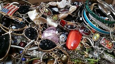 $ CDN20.37 • Buy #4 Vintage To Now Estate Find Jewelry Lot Junk Drawer Unsearched Untested Wear