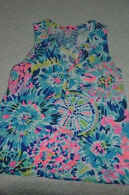 $19.99 • Buy Lilly Pulitzer Essie Sleeveless Top Size S EUC