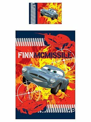 Disney Pixar Cars 2 Reversible Bed Linen 135x200 Finnish Mcmissile Spy New Boxed • 32.22£