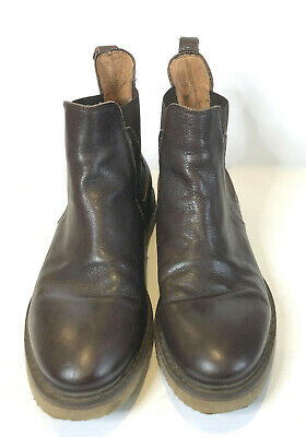 AU75 • Buy RODD & GUNN Mens Boots. Brown Leather Chelsea Boots. Ripple Sole.  Near New. 45