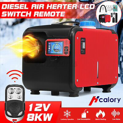 AU191.99 • Buy HCalory 8KW 12V Diesel Air Heater All In One LCD Thermostat Remote Truck Boat
