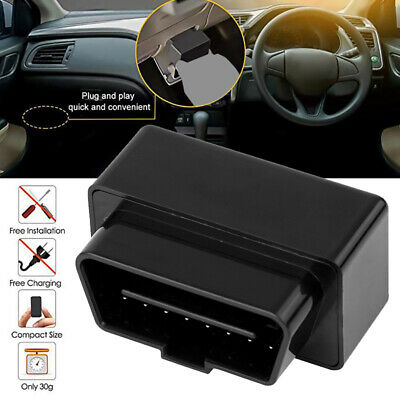Auto Car GPS Vehicle Realtime Tracker OBD Locator Tracking Device Spy System. • 11.99£