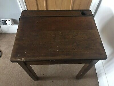 Childs School Desk With Lid • 25£