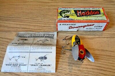 $ CDN16.30 • Buy Vintage  Heddon Crazy Crawler In The Box ?  Fishing Lure Take A LOOK !!!!!