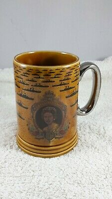 Tankard By Lord Nelson Pottery. Silver Jubilee 1977 Fleet Review At Spithead. • 12.95£