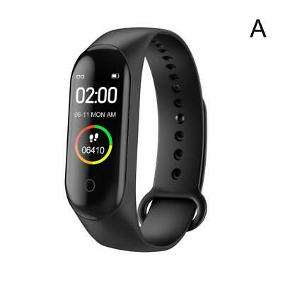 $ CDN7.69 • Buy M4 Smart Band Watch Bracelet Wristband Fitness Tracker Gifts Pressure Heart G9A3