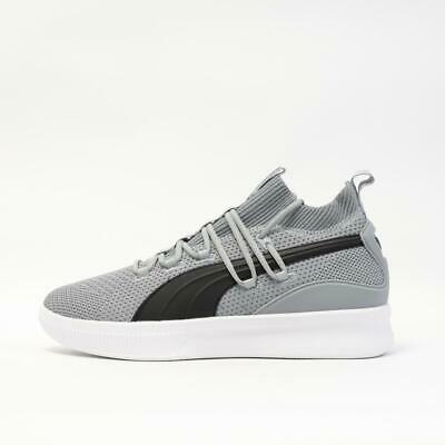 Mens Puma Clyde Court Grey Basketball Trainers (G1) RRP £79.99 • 25£