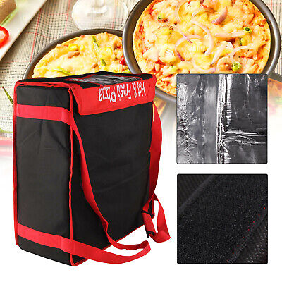 PIZZA DELIVERY BAGS ( 20  X 20  X 7  ) Full Insulated All Sides Keep It Warm • 18.99£