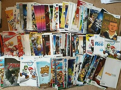 £1.49 • Buy Over 250x Nintendo Wii Manuals, All £1.49 Each With Free Postage, Trusted Shop