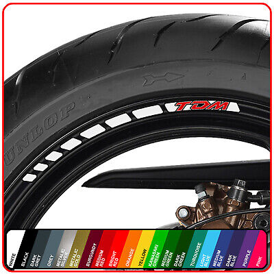 £12.98 • Buy  YAMAHA TDM 850 900 Wheel Rim Stickers Decals - 20 Colours  Abs