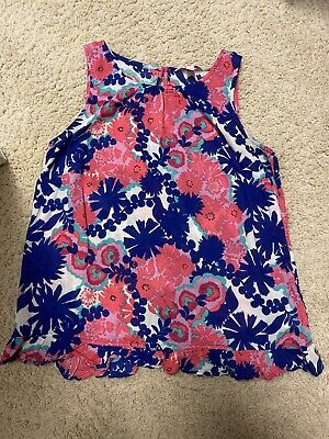 $10 • Buy 🌟Lilly Pulitzer Sleeveless Top Excellent Pre-owned Condition Size Small🌟