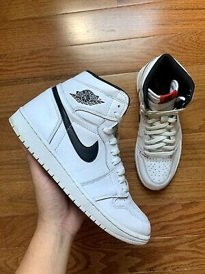 "$190 • Buy *100% AUTHENTIC* Air Jordan 1 Retro High ""Yin Yang White"" Size 10"