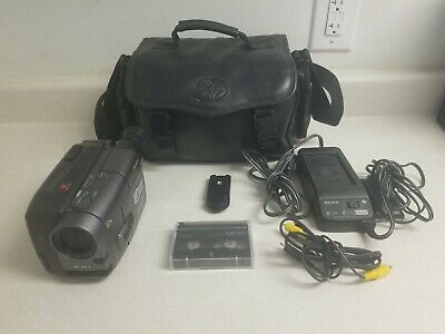 $ CDN228.21 • Buy Sony Handycam CCD-TRV30 8mm Video8 Camcorder VCR Player Camera - Excellent