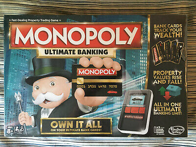 $59.99 • Buy MONOPOLY Hasbro Ultimate Banking Board Game For Family And Kids FREE SHIPPING