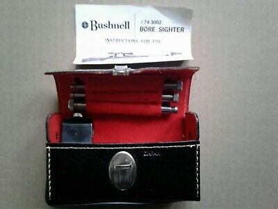 $67.99 • Buy Vintage Bushnell Bore Sighter W/ Case 74-3002 Rifle Scope Hunting Outdoors