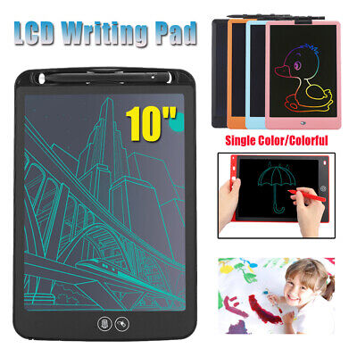 AU13.57 • Buy 10  Electronic LCD Writing Pad Drawing Tablet Board Graphics Notepad Writer Kid