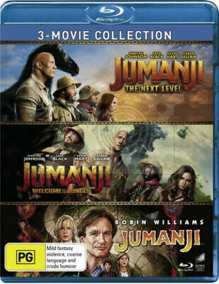 AU24.99 • Buy Jumanji 3 Movie Collection Blu-ray BRAND NEW Region B BRAND NEW